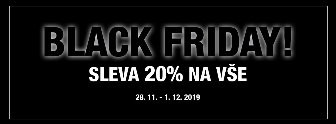 (CZ) Black Friday!
