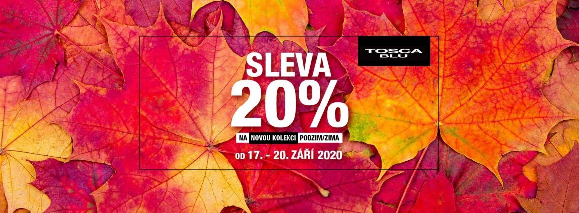Sleva 20% na novou kolekci podzim/zima Tosca Blu a #blutoscablu