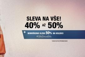 (CZ) Sleva 40% až 50% na VŠE v TOSCA BLU