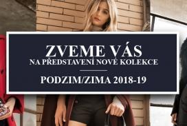 (CZ) Zveme Vás na představení nové kolekce Tosca Blu Podzim/Zima 2018-19!